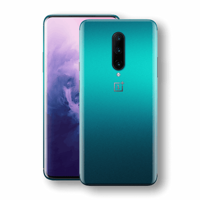 OnePlus 7 PRO Atomic Teal Metallic Gloss Finish Skin Wrap Sticker Decal Cover Protector by EasySkinz