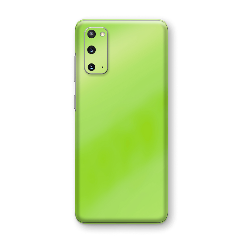 Samsung Galaxy S20 Apple Green Pearl Gloss Finish Skin Wrap Sticker Decal Cover Protector by EasySkinz