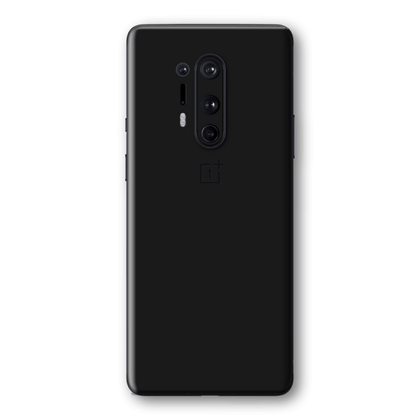 OnePlus 8 PRO Black Matt Skin Wrap Sticker Decal Cover Protector by EasySkinz