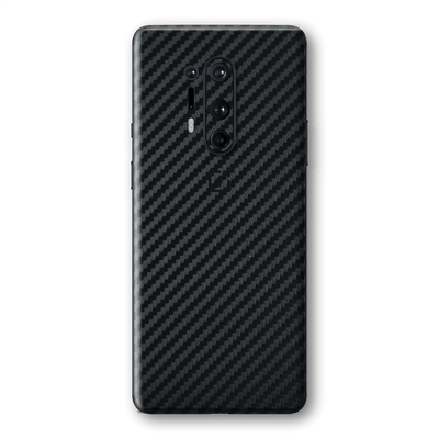 OnePlus 8 PRO 3D Textured Black Carbon Fibre Fiber Skin Wrap Sticker Decal Cover Protector by EasySkinz