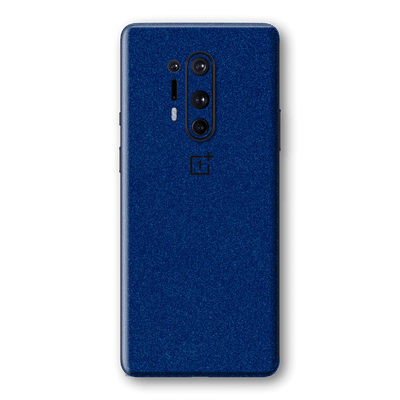 OnePlus 8 PRO Diamond BLUE Shimmering, Sparkling, Glitter Skin Wrap Sticker Decal Cover Protector by EasySkinz