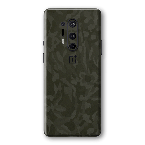 OnePlus 8 PRO Green Camo Camouflage 3D Textured Skin Wrap Sticker Decal Cover Protector by EasySkinz