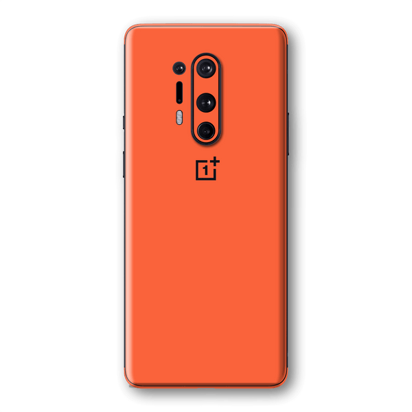OnePlus 8 PRO Glossy CORAL Skin Wrap Sticker Decal Cover Protector by EasySkinz