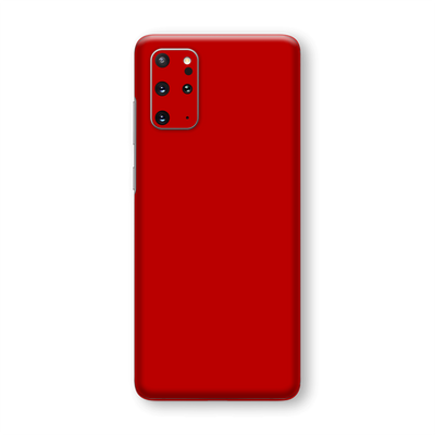 Samsung Galaxy S20+ PLUS Deep Red Glossy Gloss Finish Skin Wrap Sticker Decal Cover Protector by EasySkinz