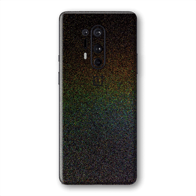 OnePlus 8 PRO Glossy GALAXY Black Milky Way Rainbow Sparkling Metallic Skin Wrap Sticker Decal Cover Protector by EasySkinz