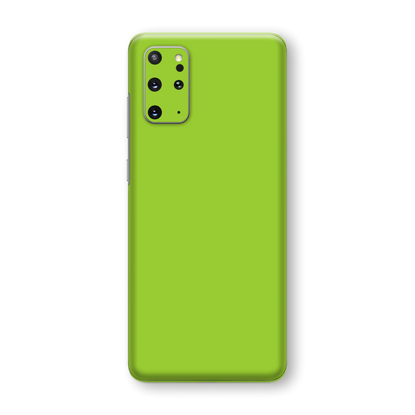 Samsung Galaxy S20+ PLUS Green Matt Skin Wrap Sticker Decal Cover Protector by EasySkinz