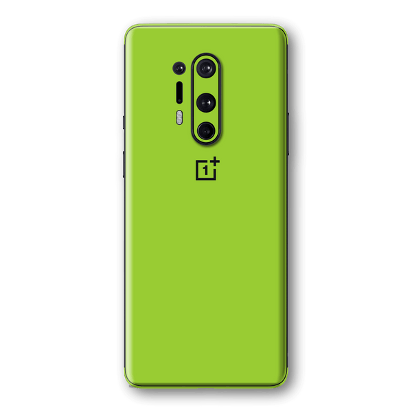 OnePlus 8 PRO Green Matt Skin Wrap Sticker Decal Cover Protector by EasySkinz