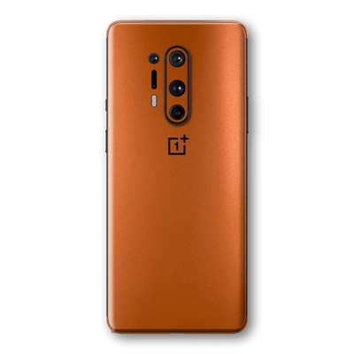 OnePlus 8 PRO Hot Copper Matt Metallic Skin Wrap Sticker Decal Cover Protector by EasySkinz