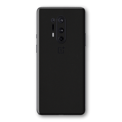 OnePlus 8 PRO Black Matrix Textured Skin Wrap Sticker Decal Cover Protector by EasySkinz