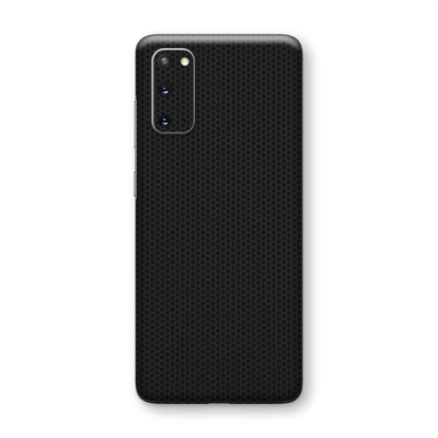 Samsung Galaxy S20 Black Matrix Textured Skin Wrap Sticker Decal Cover Protector by EasySkinz