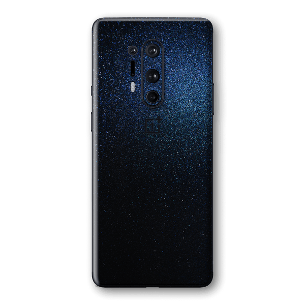OnePlus 8 PRO Glossy Midnight Blue Metallic Skin Wrap Sticker Decal Cover Protector by EasySkinz
