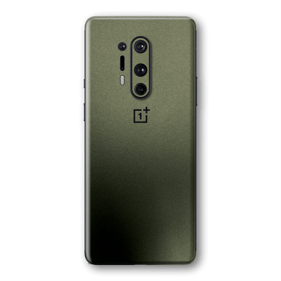 OnePlus 8 PRO Military Green Matt Matte Metallic Skin Wrap Sticker Decal Cover Protector by EasySkinz
