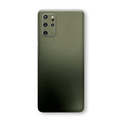 Samsung Galaxy S20+ PLUS Military Green Matt Matte Metallic Skin Wrap Sticker Decal Cover Protector by EasySkinz