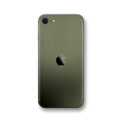 iPhone SE (2020) MILITARY GREEN MATT Skin Wrap Sticker Decal Cover Protector by EasySkinz