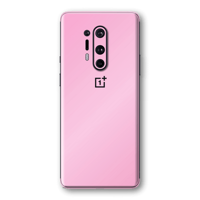 OnePlus 8 PRO Pink Matt Skin Wrap Sticker Decal Cover Protector by EasySkinz