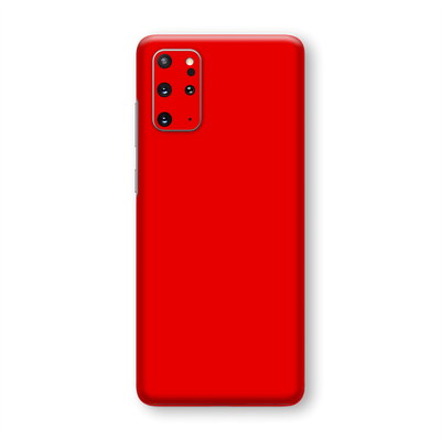 Samsung Galaxy S20+ PLUS Red Matt Skin Wrap Sticker Decal Cover Protector by EasySkinz