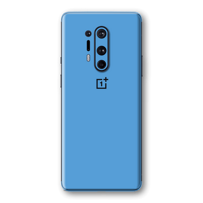 OnePlus 8 PRO Glossy SKY BLUE Skin Wrap Sticker Decal Cover Protector by EasySkinz