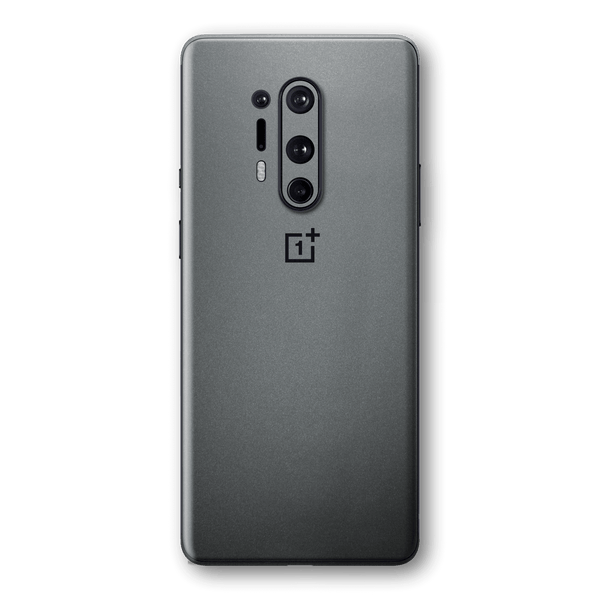 OnePlus 8 PRO Space Grey Matt Metallic Skin Wrap Sticker Decal Cover Protector by EasySkinz