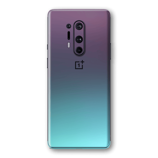 OnePlus 8 PRO Chameleon Turquoise Lavender Skin Wrap Sticker Decal Cover Protector by EasySkinz