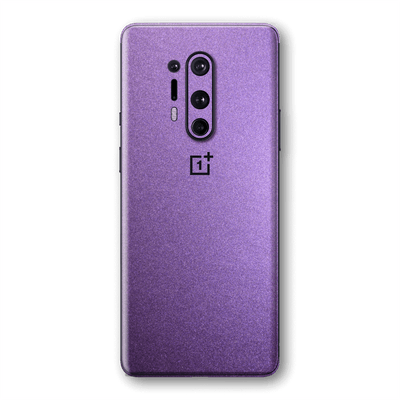 OnePlus 8 PRO Violet Matt Metallic Skin Wrap Sticker Decal Cover Protector by EasySkinz