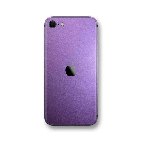 iPhone SE (2020) VIOLET MATT Skin Wrap Sticker Decal Cover Protector by EasySkinz