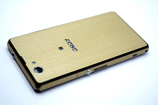 Sony Xperia Z1 Compact Gold Skin