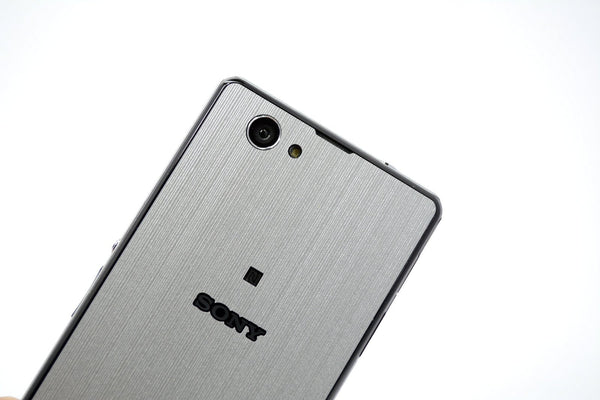 Sony Xperia Z1 Compact Silver Skin