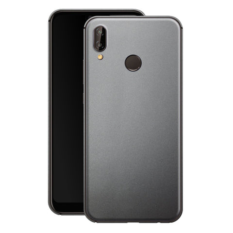 Huawei P20 LITE Space Grey Matt Metallic Skin, Decal, Wrap, Protector, Cover by EasySkinz | EasySkinz.com