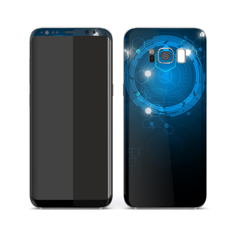 Samsung Galaxy S8 Print Custom Signature SPACE Skin Wrap Decal by EasySkinz