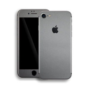 iPhone 8 Space Grey Matt Matte Metallic Skin, Wrap, Decal, Protector, Cover by EasySkinz | EasySkinz.com