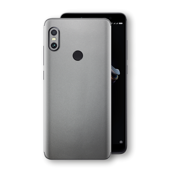 XIAOMI Redmi NOTE 5 Space Grey Matt Metallic Skin, Decal, Wrap, Protector, Cover by EasySkinz | EasySkinz.com