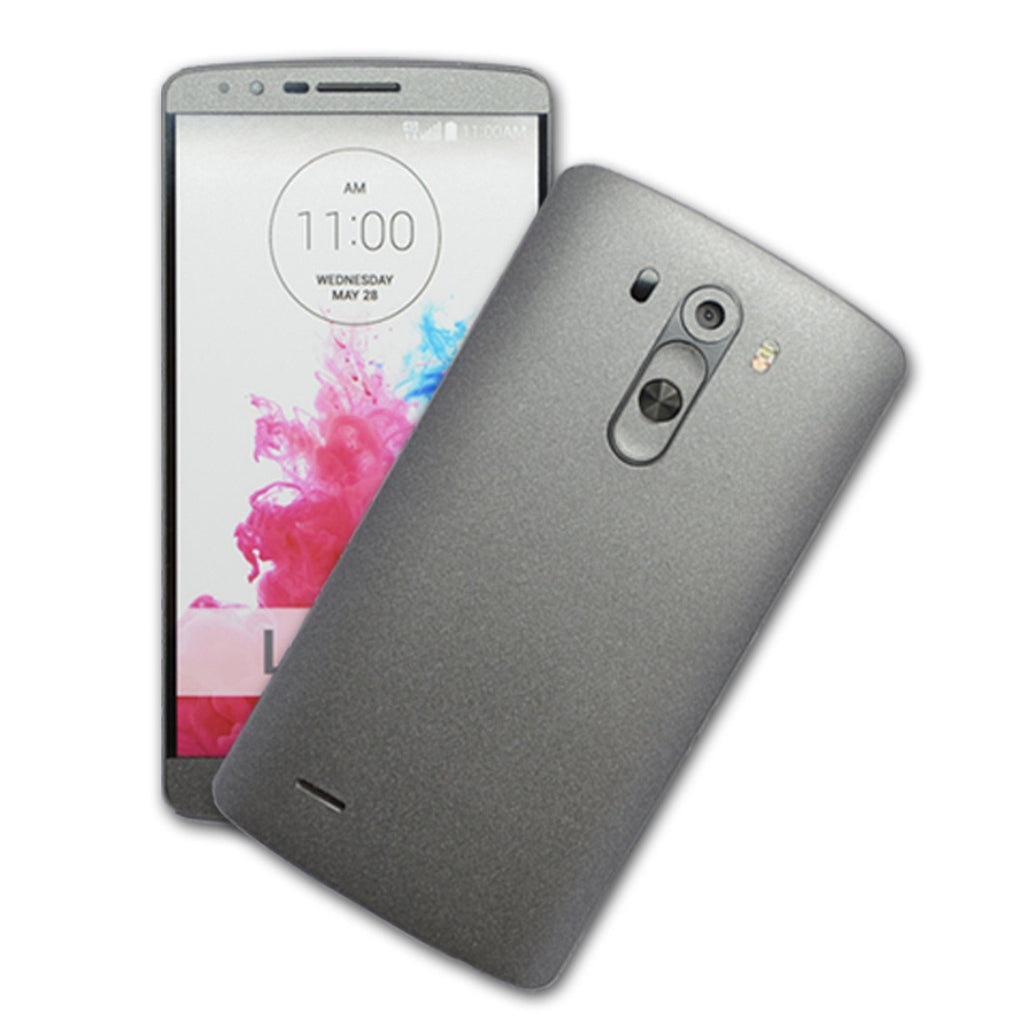 LG G3 MATT Matte Space Grey Skin Sticker Wrap Cover Decal Protector