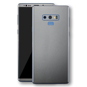 Samsung Galaxy NOTE 9 Space Grey Matt Metallic Skin, Decal, Wrap, Protector, Cover by EasySkinz | EasySkinz.com