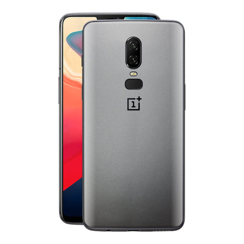 OnePlus 6 Satin Pearl White Matt Skin, Decal, Wrap, Protector, Cover by EasySkinz | EasySkinz.com