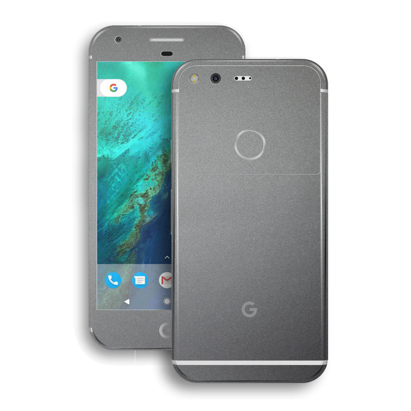 Google Pixel Space Grey Matt Metallic Skin by EasySkinz