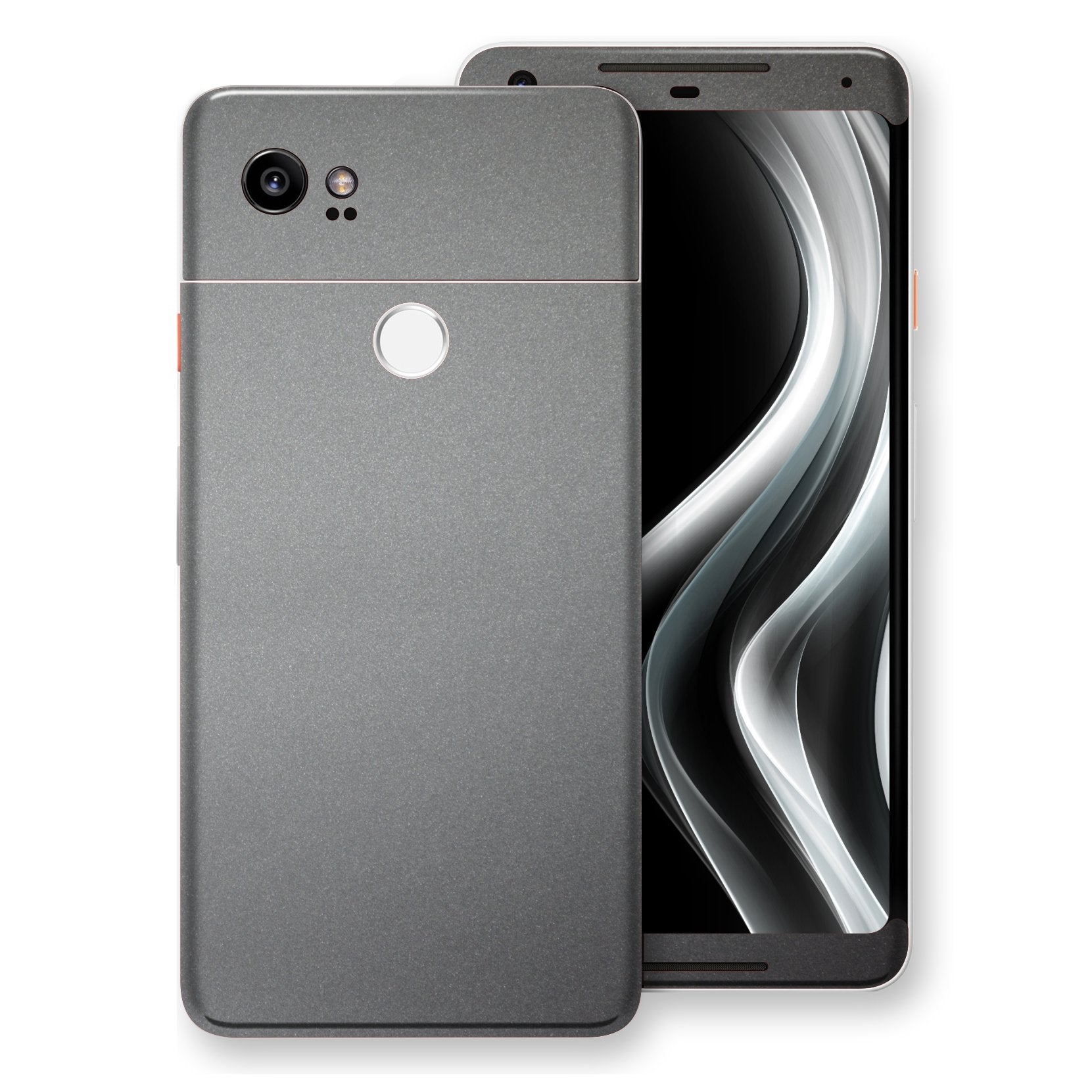 Google Pixel 2 XL Space Grey Matt Metallic Skin, Decal, Wrap, Protector, Cover by EasySkinz | EasySkinz.com