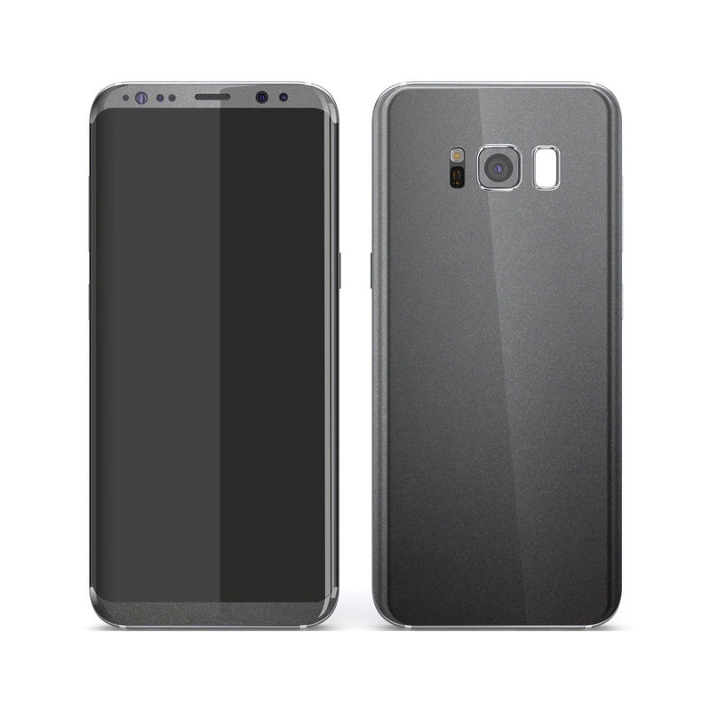 Samsung Galaxy S8 Space Grey Matt Metallic Skin, Decal, Wrap, Protector, Cover by EasySkinz | EasySkinz.com