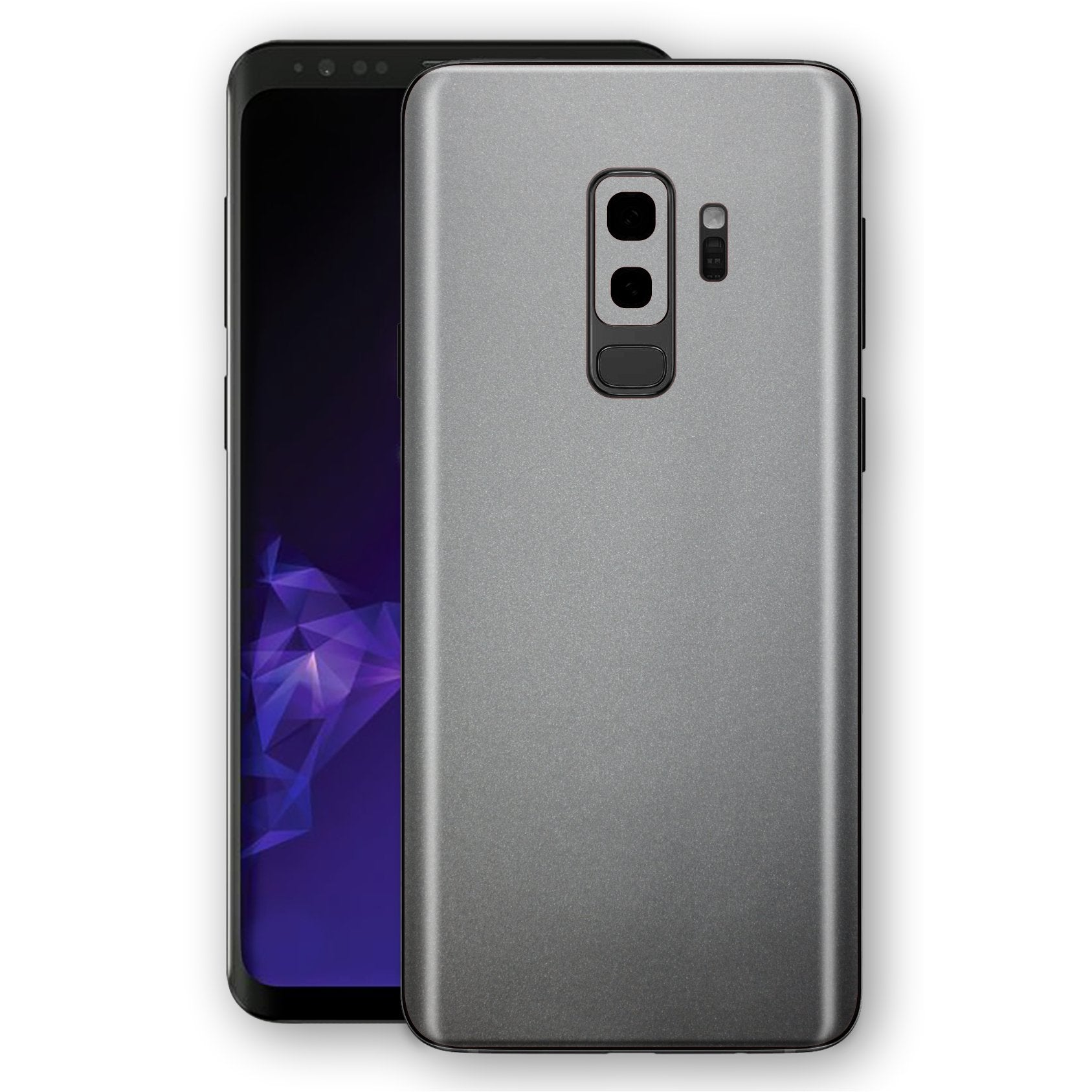 Samsung GALAXY S9+ PLUS Space Grey MATT Skin, Decal, Wrap, Protector, Cover by EasySkinz | EasySkinz.com