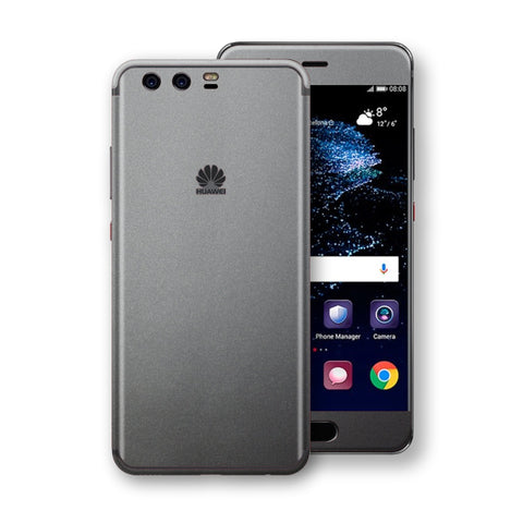 Huawei P10  Space Grey Matt Metallic Skin, Decal, Wrap, Protector, Cover by EasySkinz | EasySkinz.com