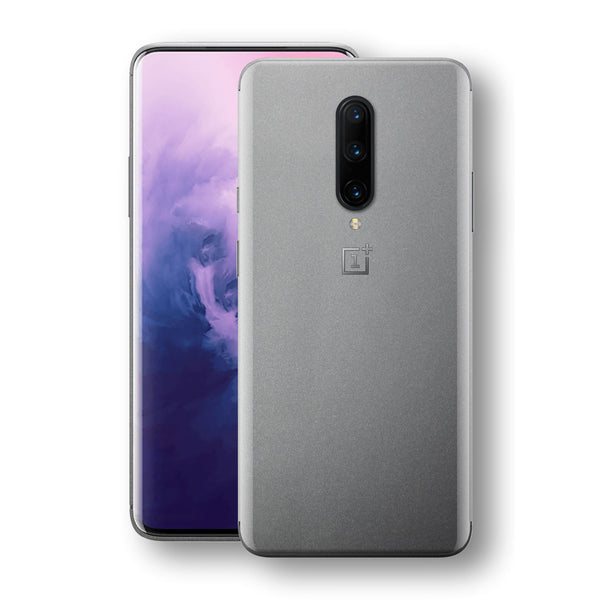 OnePlus 7 PRO Space Grey Matt Metallic Skin, Decal, Wrap, Protector, Cover by EasySkinz | EasySkinz.com