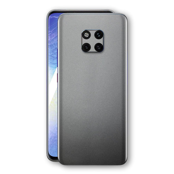 Huawei MATE 20 PRO Space Grey Matt Metallic Skin, Decal, Wrap, Protector, Cover by EasySkinz | EasySkinz.com
