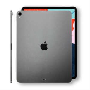 iPad PRO 12.9 inch 3rd Generation 2018 Matt Matte SPACE GREY Skin Wrap Sticker Decal Cover Protector by EasySkinz