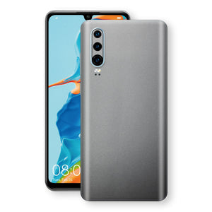 Huawei P30 Space Grey Matt Metallic Skin, Decal, Wrap, Protector, Cover by EasySkinz | EasySkinz.com