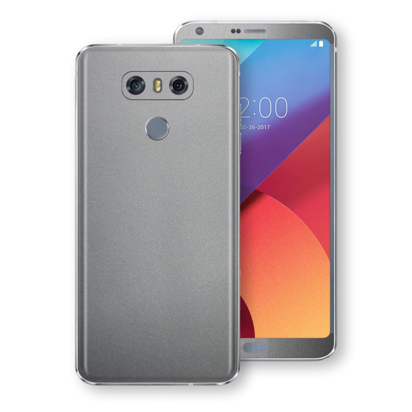 LG G6 Space Grey Matt Metallic Skin, Decal, Wrap, Protector, Cover by EasySkinz | EasySkinz.com