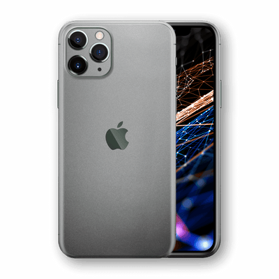 iPhone 11 PRO Space Grey Matt Matte Metallic Skin, Wrap, Decal, Protector, Cover by EasySkinz | EasySkinz.com  Edit alt text