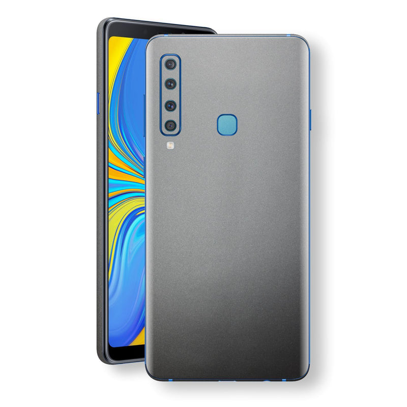 Samsung Galaxy A9 (2018) Space Grey Matt Metallic Skin, Decal, Wrap, Protector, Cover by EasySkinz | EasySkinz.com