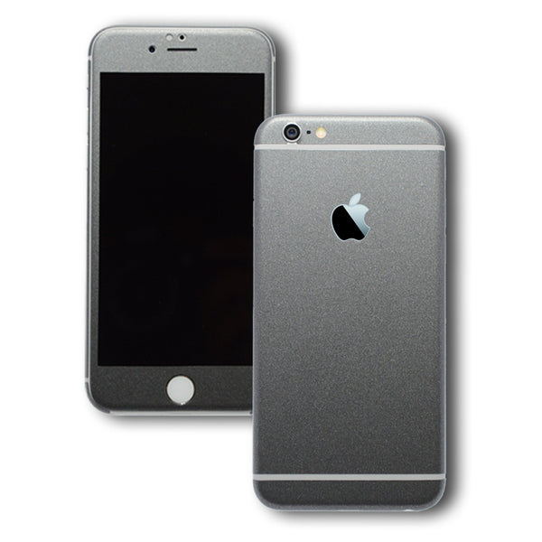 iPhone 6 Plus Space Grey Matt Skin Wrap Sticker Cover Decal Protector by EasySkinz