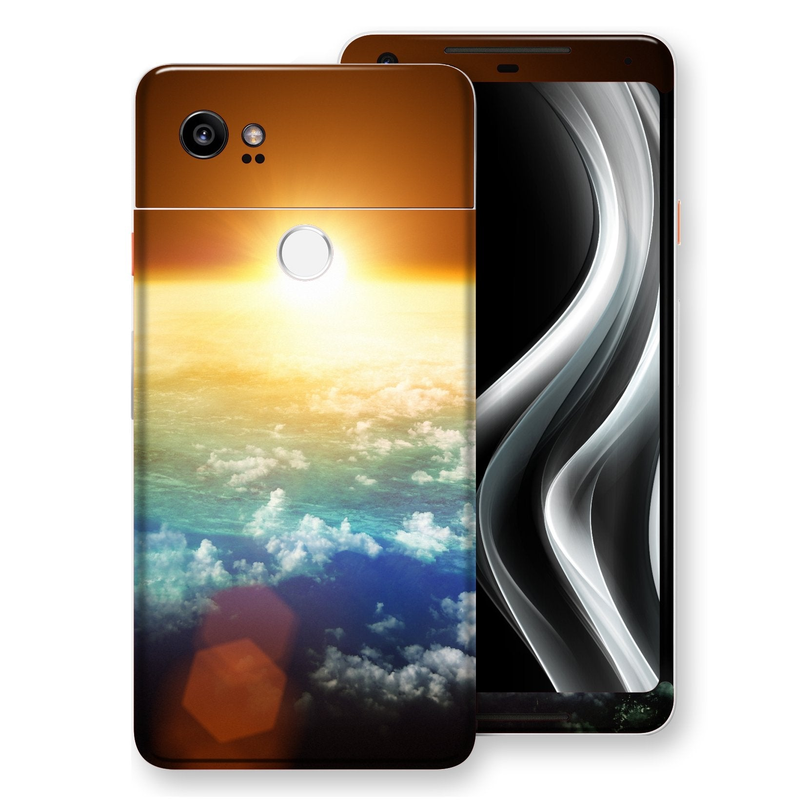 Google Pixel 2 XL Print Custom Signature Sunset Skin Wrap Decal by EasySkinz