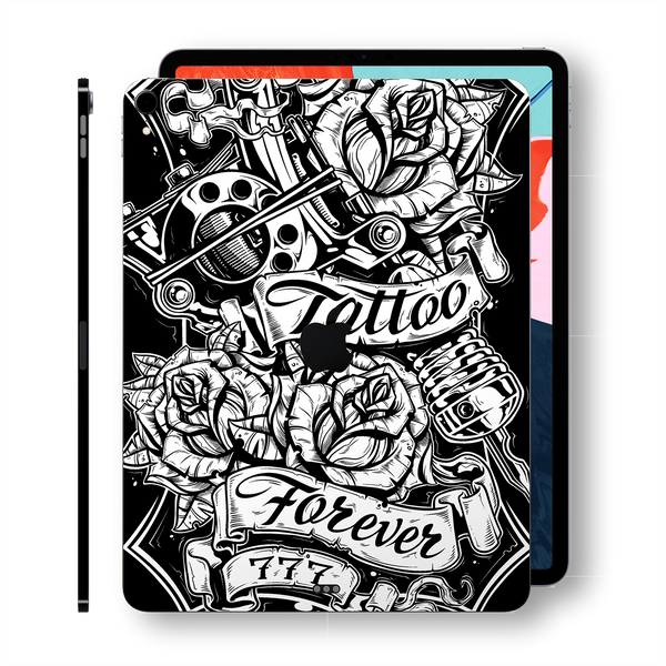 "iPad PRO 11"" inch 2018 Signature Tattoo Forever Printed Skin Wrap Decal Protector 