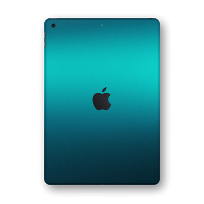 "iPad 10.2"" (8th Gen, 2020) Atomic Teal Metallic Gloss Finish Skin Wrap Sticker Decal Cover Protector by EasySkinz"